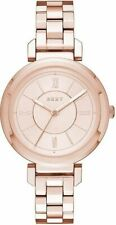Women's DKNY Ellington Rose Gold Steel Watch NY2584