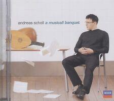 Andreas Scholl - Andreas Scholl: A Musicall Banquet CD    (CD035)