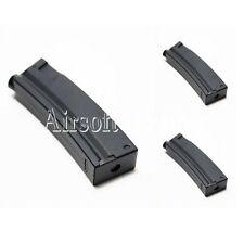 Airsoft 3pcs Pack CYMA 65rd Mid-Cap Short Magazine for MP5 Series AEG Black