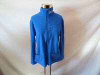 Women's ROOTS Zipper Blue Sweater Long Sleeve Sz L
