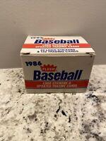 1986 Fleer Baseball Factory Update Set Item 631 - Barry Bonds - Jose Conseco