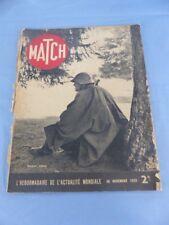 Revue MATCH du 30 novembre 1939 SOLDAT SUISSE Général de GRANCOURT