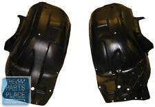 1970-72 Monte Carlo Front Inner Fender Plastic Skirt Wells Pair OEM