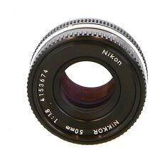 Nikon Nikkor 50mm F/1.8 AIS/Late Manual Focus Lens {52} - UG