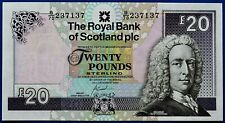 More details for the royal bank of scotland plc 2007 £20 banknote.   ch14-178