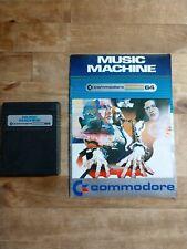 Commodore MUSIC MACHINE - C64 Cartridge