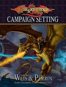 Dragonlance Campaign Setting (Dungeons & Dragons) Weis Perrin Dragon Lance NEW