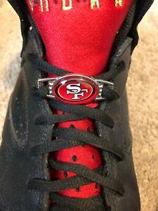 2pcs NFL Team Logo Paracord Shoelace Charms (Pair)  (CHOOSE YOUR TEAM)