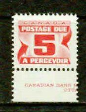 CANADA-1969- 5¢ SCARCE POSTAGE DUE 19½ X15¾ MM - VF**
