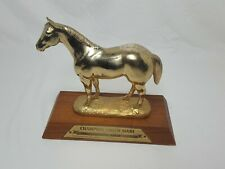 VINTAGE HORSE TROPHY GRAND CHAMPION YOUTH MARE QUARTERHORSE ASSOCIATION STATUE