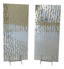 Lf47898Ec: Pair Modern Design Room Dividers Or Screens
