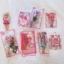 2014 MCDONALDS BARBIE LIFE IN THE DREAMHOUSE COMPLETE SET 8 FIGURES 7 MIP NEW