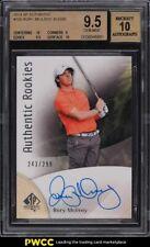2014 SP Authentic Golf Rory McIlroy ROOKIE RC AUTO /299 #100 BGS 9.5 GEM MINT