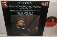 SXLP 1436491 Beethoven Piano Concerto No.3 Gilels Cleveland Orchestra Szell