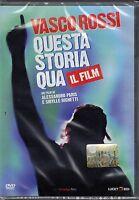 Dvd **VASCO ROSSI • QUESTA STORIA QUA • IL FILM** nuovo 2011