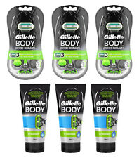 9 lamette GILLETTE BODY usa e getta tre lame + 3 GILLETTE BODY Gel per rasatura