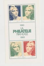 Timbres France -Bloc feuillet La philatélie Française de 1983 -   par Cartor