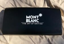 Mont Blanc Boheme Bleu Platinum Sapphire Ballpoint Pen #PL04015 Mint in Box