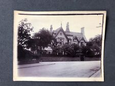 Vintage BW Real Photo #BQ: Mysterious Gothic House: Westbourne Road