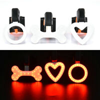 Cycling LED USB Rechargeable Bike Bicycle Tail Warning Light Rear Back Safety