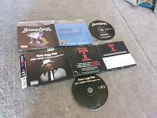 SNOOP DOGGY DOGG SNOOP'S UPSIDE YA HEAD+SNOOP DOGG 2 CD SET 6 TRACKS + VIDEO GC