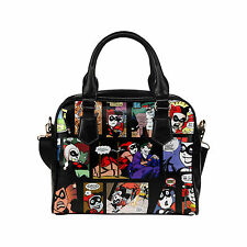 Custom Women's Handbag Harley Quinn Fashion Shoulder Bag