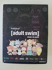 Kidrobot Adult Swim Blind Box Mini Enamel Pin Series One CASE OF 20 SDCC 2017