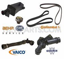 BMW E83 X3 2004-2006 2.5L Thermostat & Expansion Tank & Drive Belts & Hose Kit