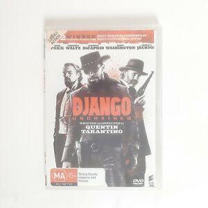 Django Unchained Movie DVD Region 4 AUS Free Postage - Action Quentin Tarantino