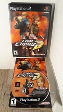 Time Crisis 3 (Sony PlayStation 2, 2003) PS2