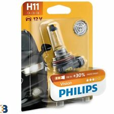 Philips H11 Vision 711 headlight bulb 30% more vision 12362PRB1 SINGLE