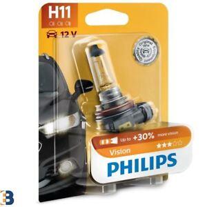 Philips H11 Vision 711 headlight bulb 30% more vision 12362PRB1 SINGLE