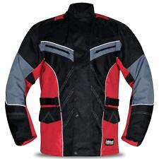 Mens CE Armoured Motorbike Jacket Cordura Quilted Water Resistant Reflective M