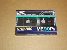 JVC Blank vintage new Cassette Tape Dynarec ME90P II