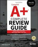 CompTIA A+ Complete Review Guide : Exam 220-1001 and Exam 220-1002, Paperback...