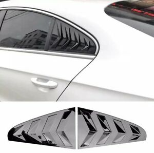 VW CC Side Louvers (Black or Carbon Fiber)