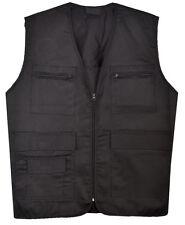Mens Gilet WaistCoat Body Coat Vest Hunting Shooting Safari Big Size 2XL-6XL