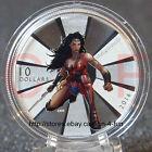 2016 Canada BATMAN v SUPERMAN Dawn of Justice™ Wonder Woman $10 Pure Silver Coin