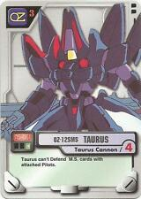 OZ-12SMS Tauros MS-061 Mobile Suit Gundam MS M.S. War Trading Card Game CCG TCG