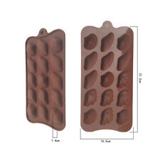 Silicone Shell Chocolate Mould Tray Bakeware Ice Cube Cake Decorating Jelly Mold