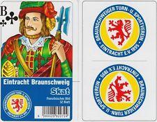 Eintracht Braunschweig Skat Spiel Karten Spiel Fußball Bundesliga Neu OVP