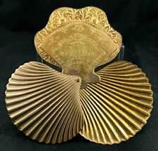 W. AVERY & SON - SCALLOPE SHELL VICTORIAN NEEDLE CASE - ORIGINAL - 1871