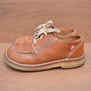 Duckfeet Brown Leather Shoes Womens sz 38