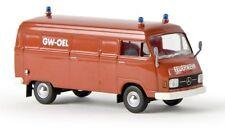 """Brekina 13307 - 1/87 Mb L 206 D Kasten """"Feuerwehr Gw Öl"""" Von Starmada - Neu"""
