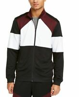 Ideology Mens Jacket Red White Black Size XL Track Full Zip Colorblock $50 376