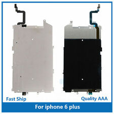 iPhone 6 Plus 5.5'' LCD Metal Shield back plate+Home button flex cable Heat sink
