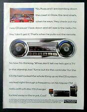 1991 Pioneer Car Audio Ad - 6-Disc Cd Changer