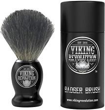 Badger Hair Shaving Brush for Wet Cream & Soap Best Life for Safety Razor Double