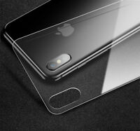 Cafele Back Rear Tempered Glass Screen Protector Film Cover for iPhone X