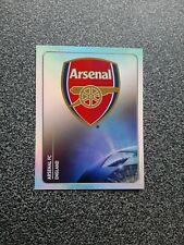 PANINI CHAMPIONS LEAGUE 2011/12 NR. 345 BADGE ARSENAL FC
